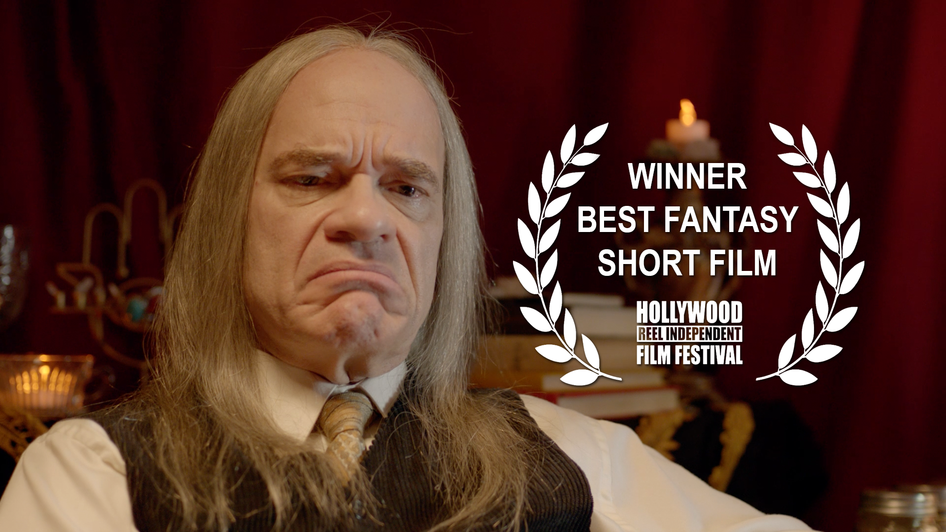 """Carghost had it's world premiere and won """"Best Fantasy Short"""" and the """"People's Choice Award for Best Short Film"""" at the Hollywood Reel Independent Film Festival on February 17th, 2017."""