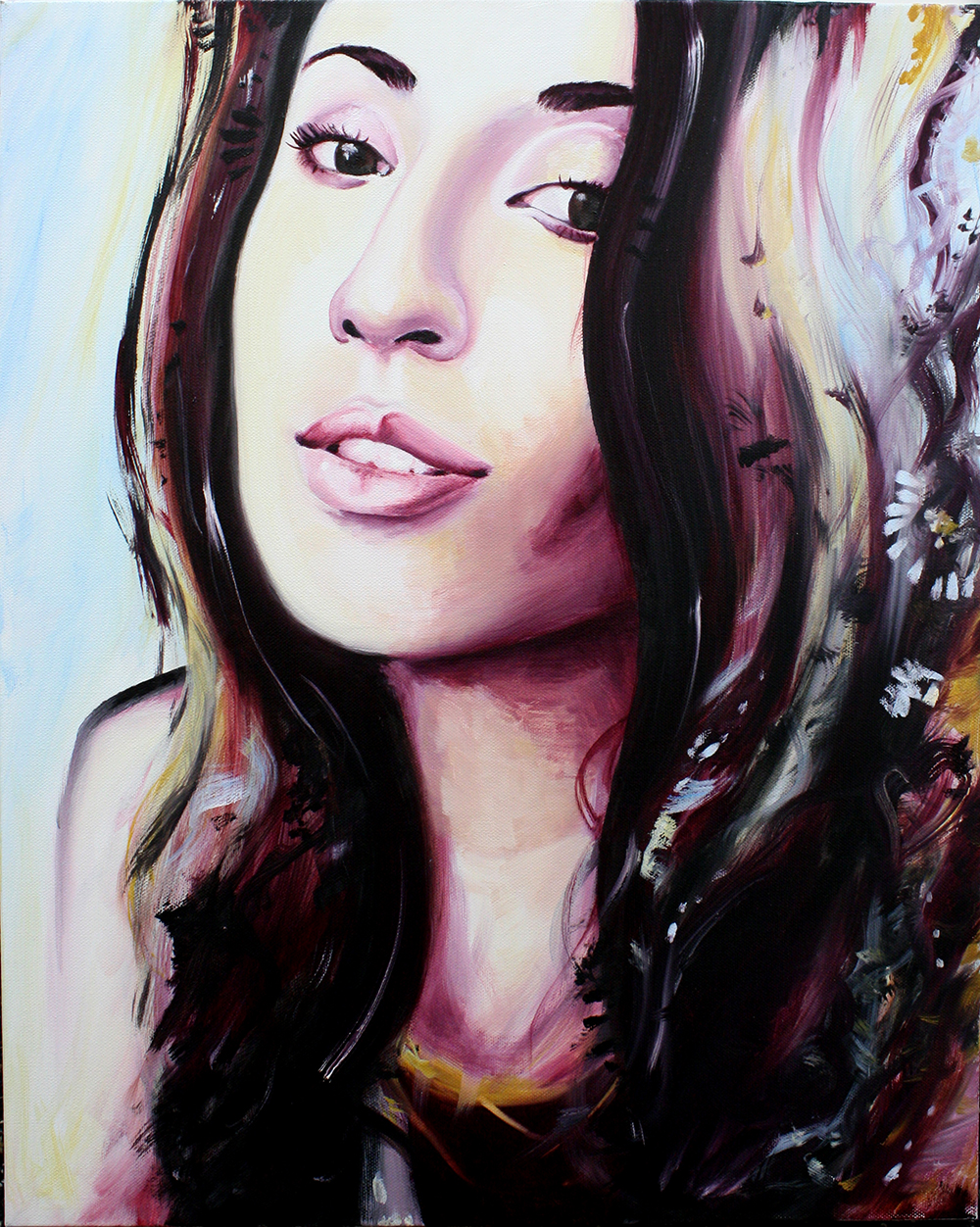 Self Portrait  Oil on Canvas