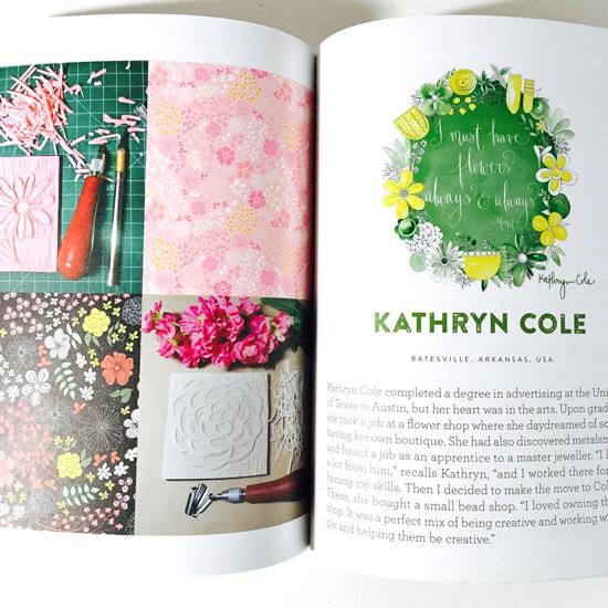 Kathryn Cole Uppercase Compendium, Surface Design