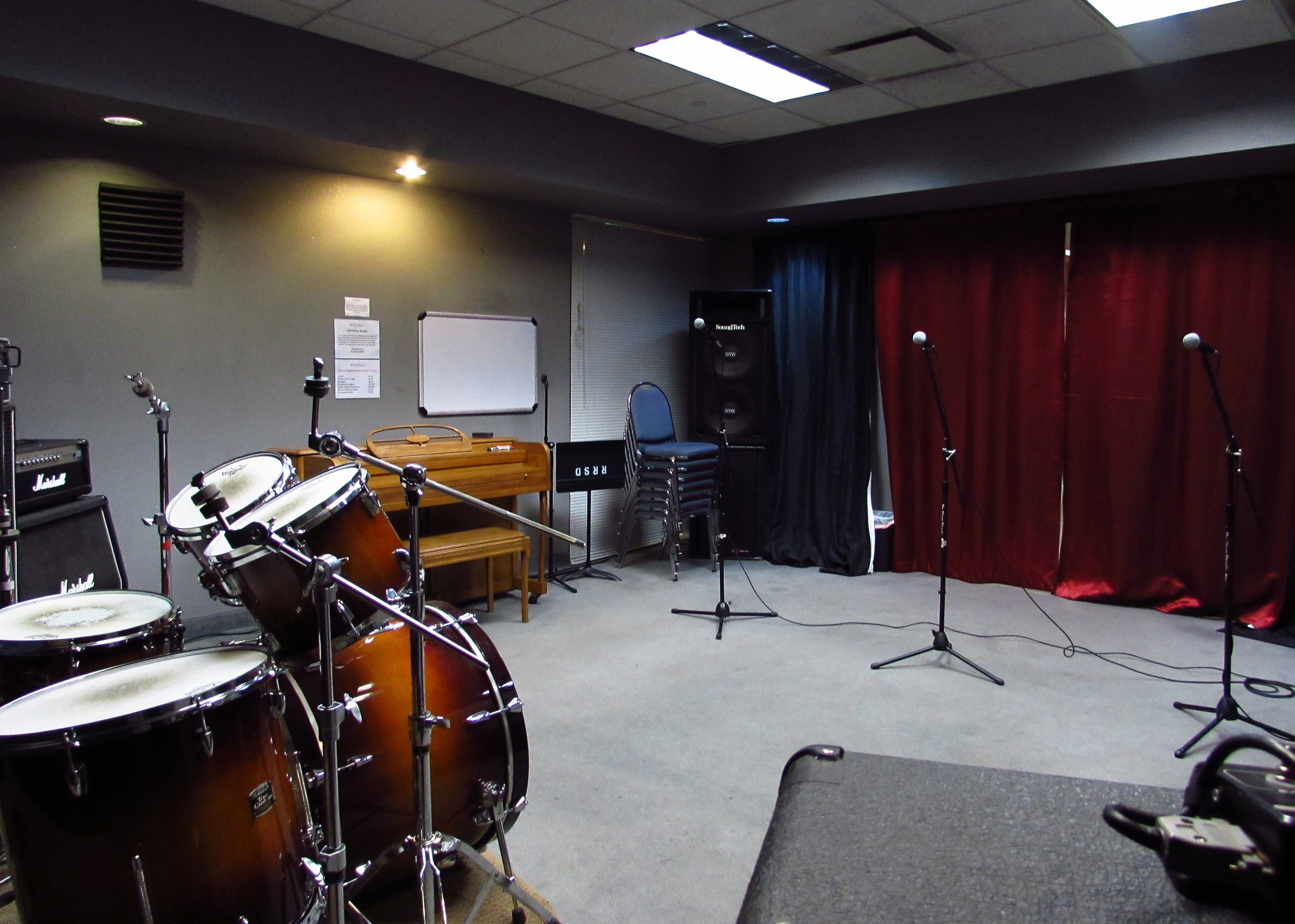 Hourly Rehearsal Rooms — Rock and Roll San Diego