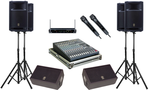 Equipment Rentals - Rock & Roll San Diego offers a full line of sound system & backline rentals. From coffee shops to large venues, if you're putting on an event or need a PA system, we've got you covered! Stop by and browse our — guitars, basses, drum kits, amps, sound systems, lighting & more!