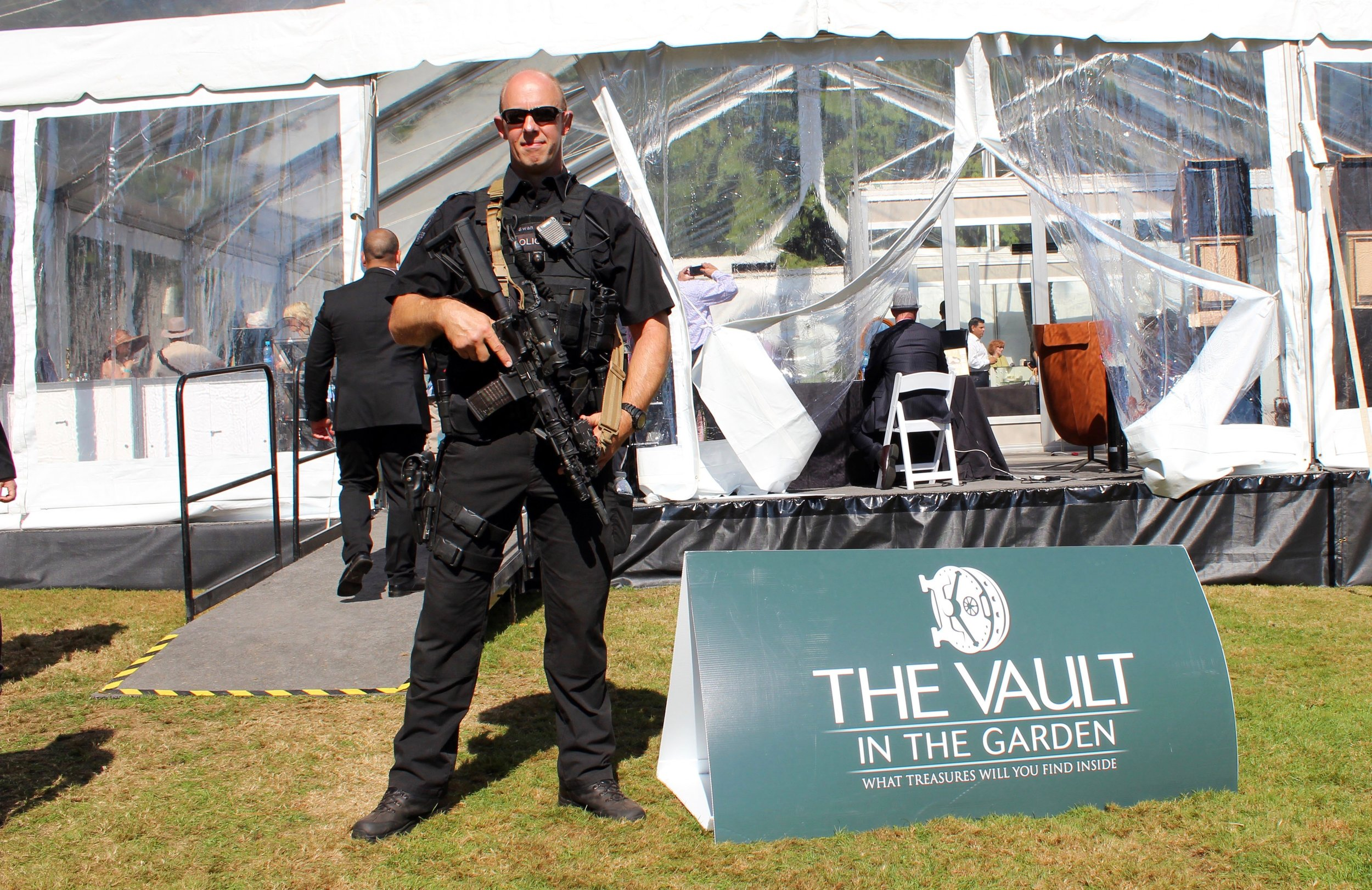 Securing over $200,000,000 at the Vault in the Garden 2015