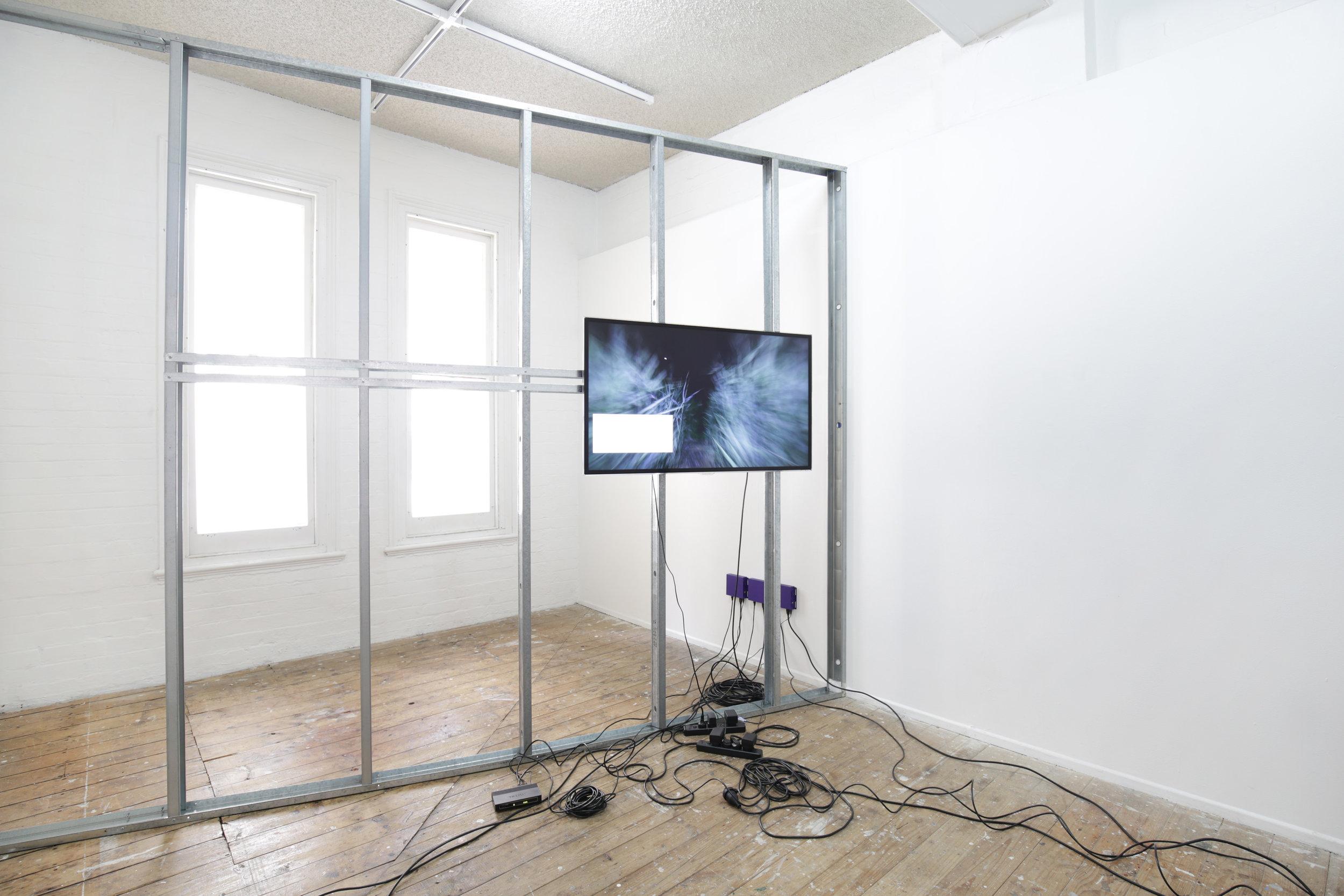 Installed at Metro Arts (2018).