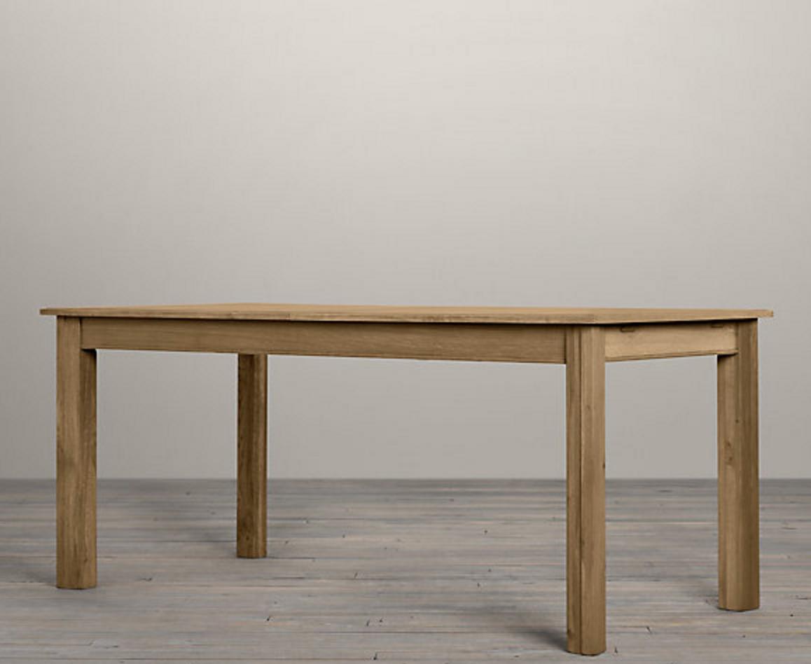 Drifted Oak Parsons Table