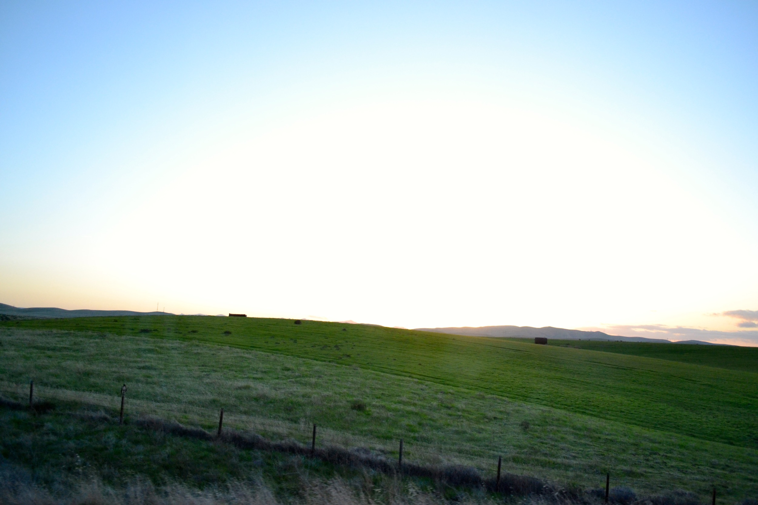 I just love these shots from the drive down. California is so incredibly beautiful.