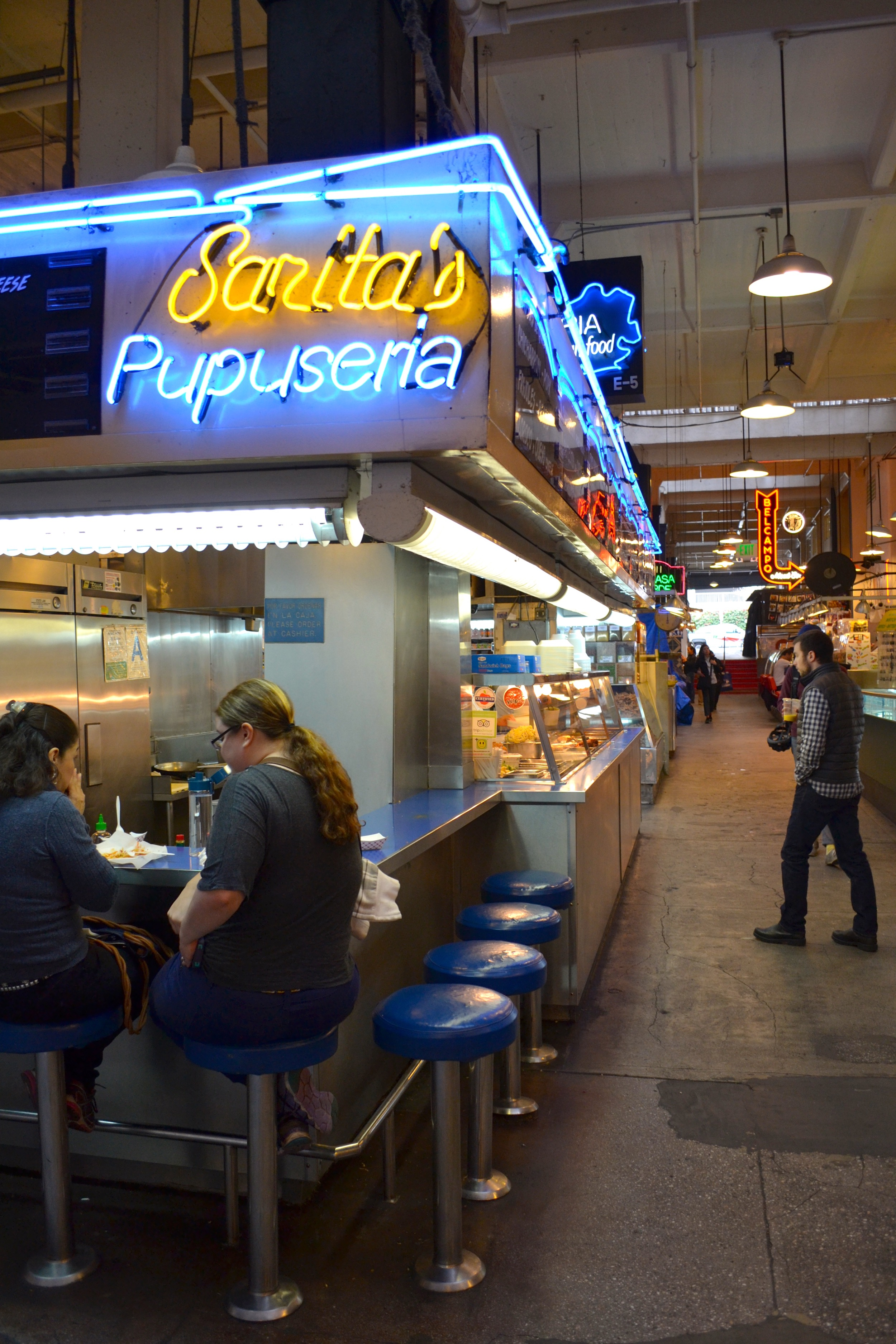 A visit to Grand Central Station is a must. I loved the neon sign and the mix of authentic food with trendy spots.