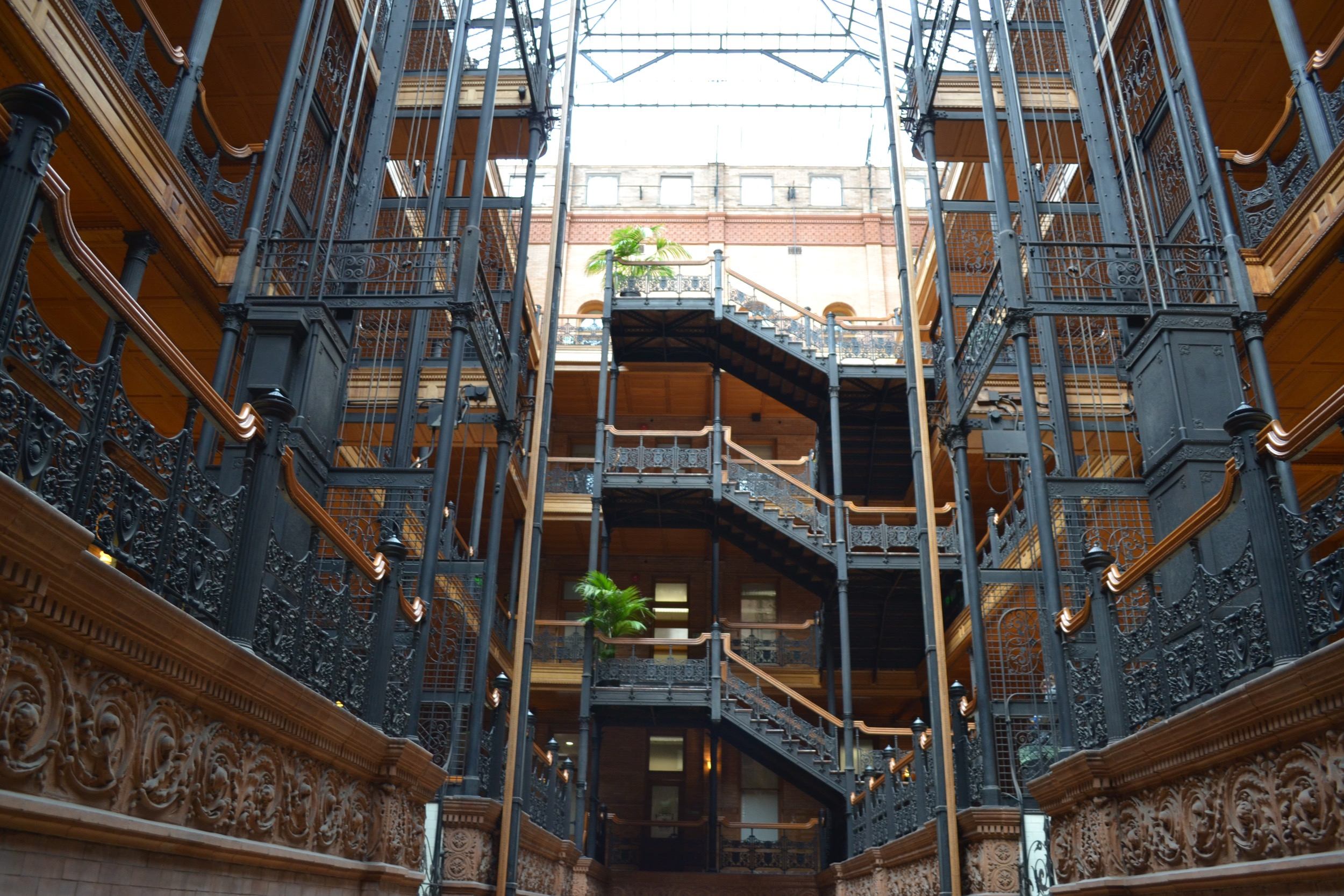 The Bradbury Building is a short walk from Grand Central and a fun stop.