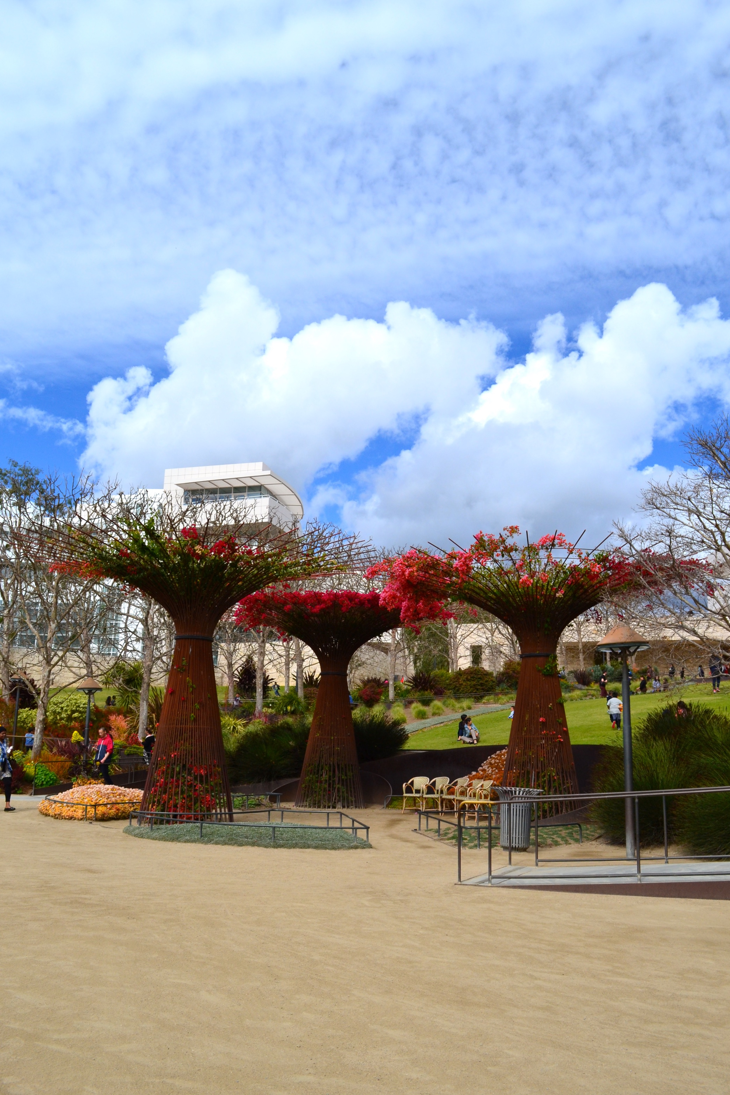 The grounds at the Getty are stunning, and you can go for free (you just have to pay for parking).