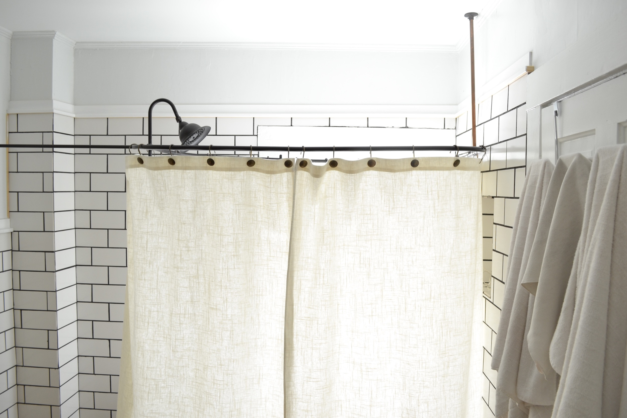 Diy Clawfoot Tub Shower Curtain Rod.A Diy Clawfoot Tub Shower Curtain For Your Clawfoot Tub