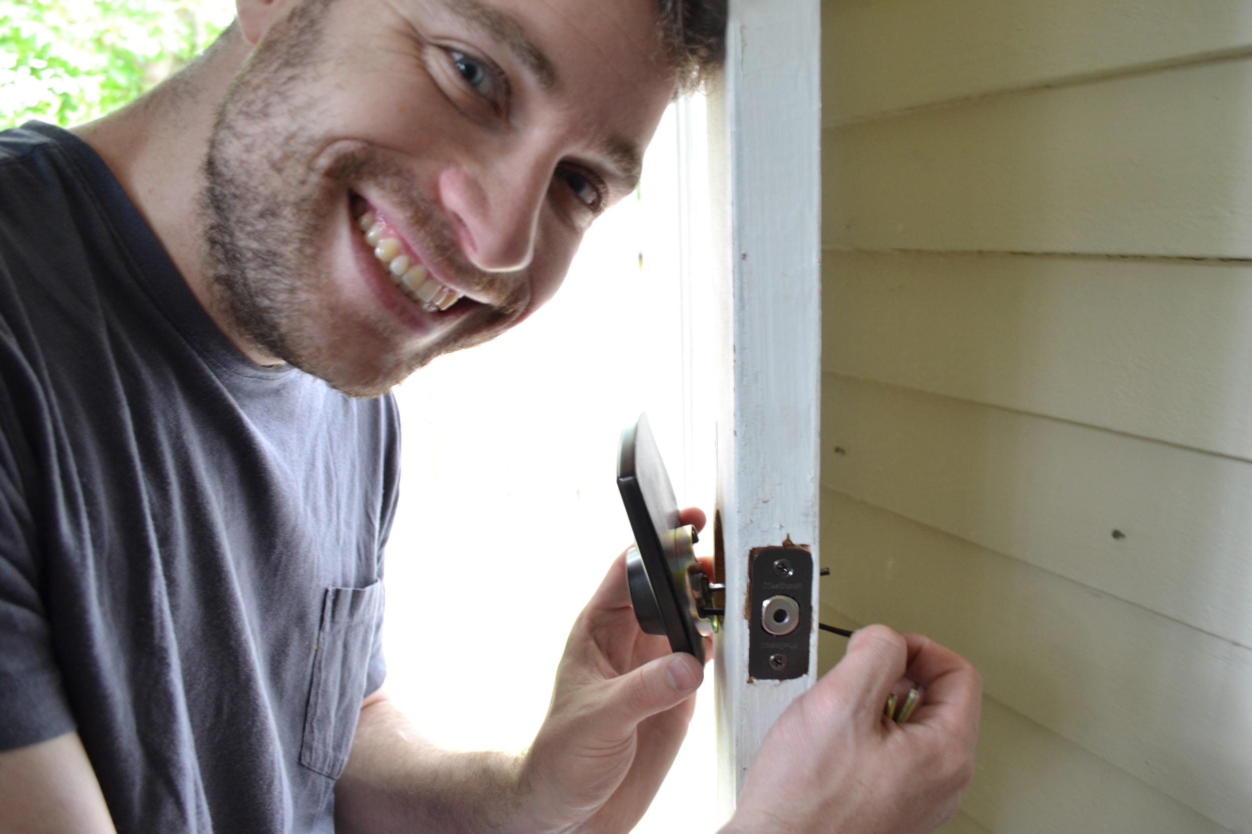 keypad-lock-installation