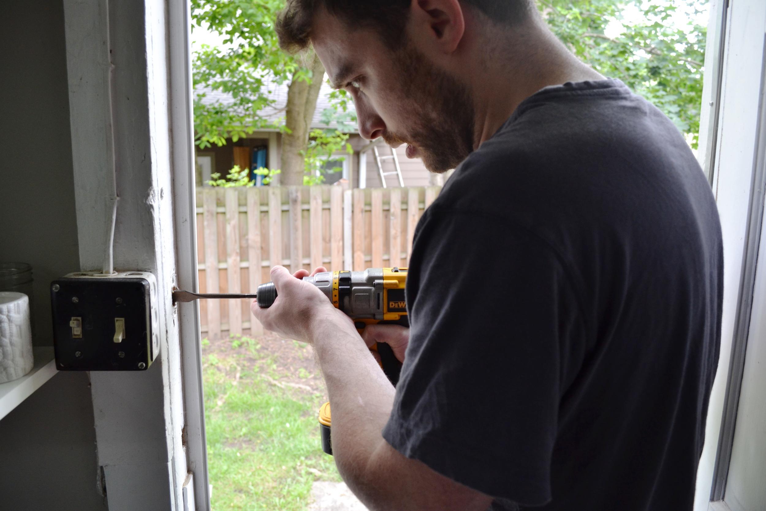 Keypad-lock-tools-needed