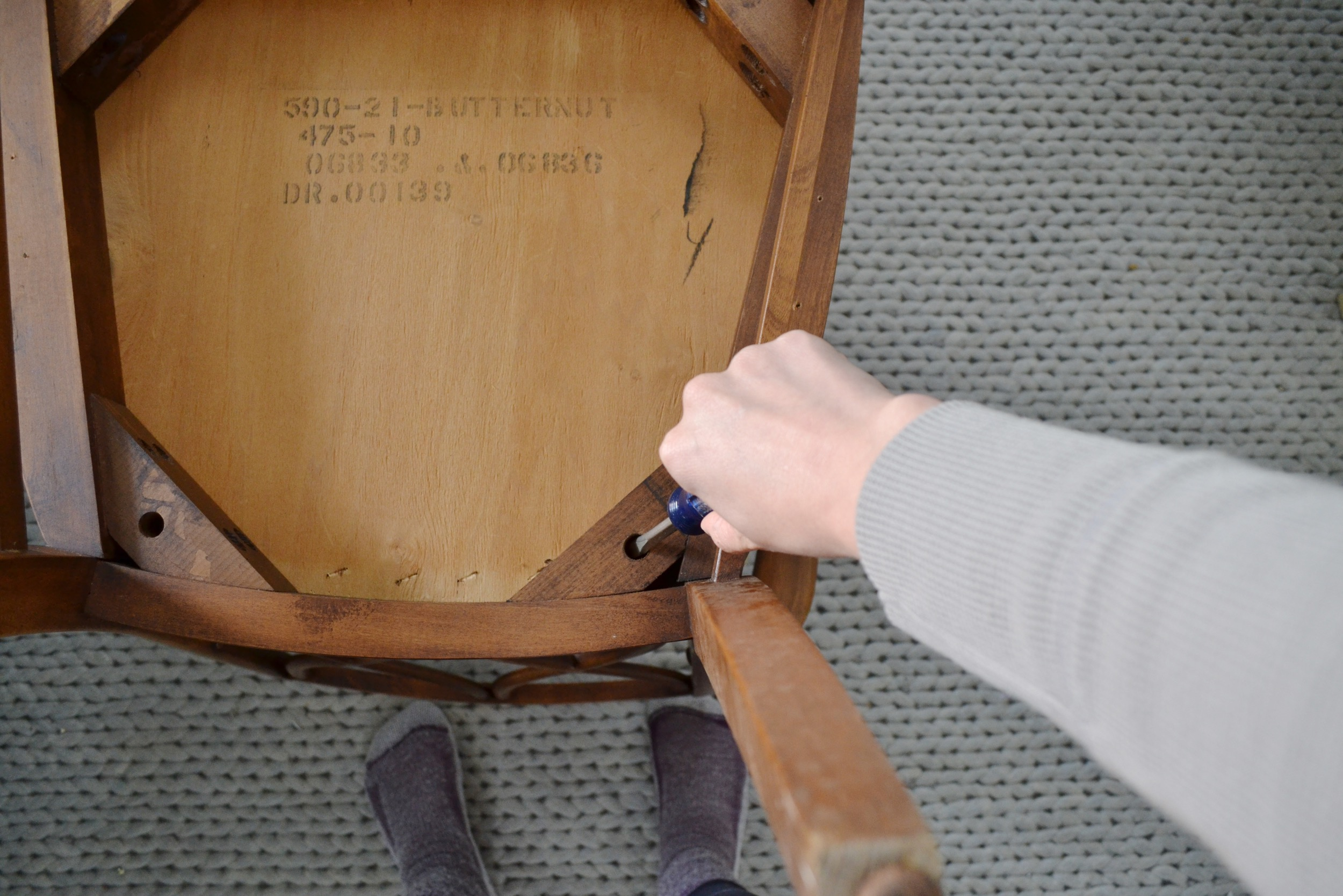 Recovering-dining-room-chair