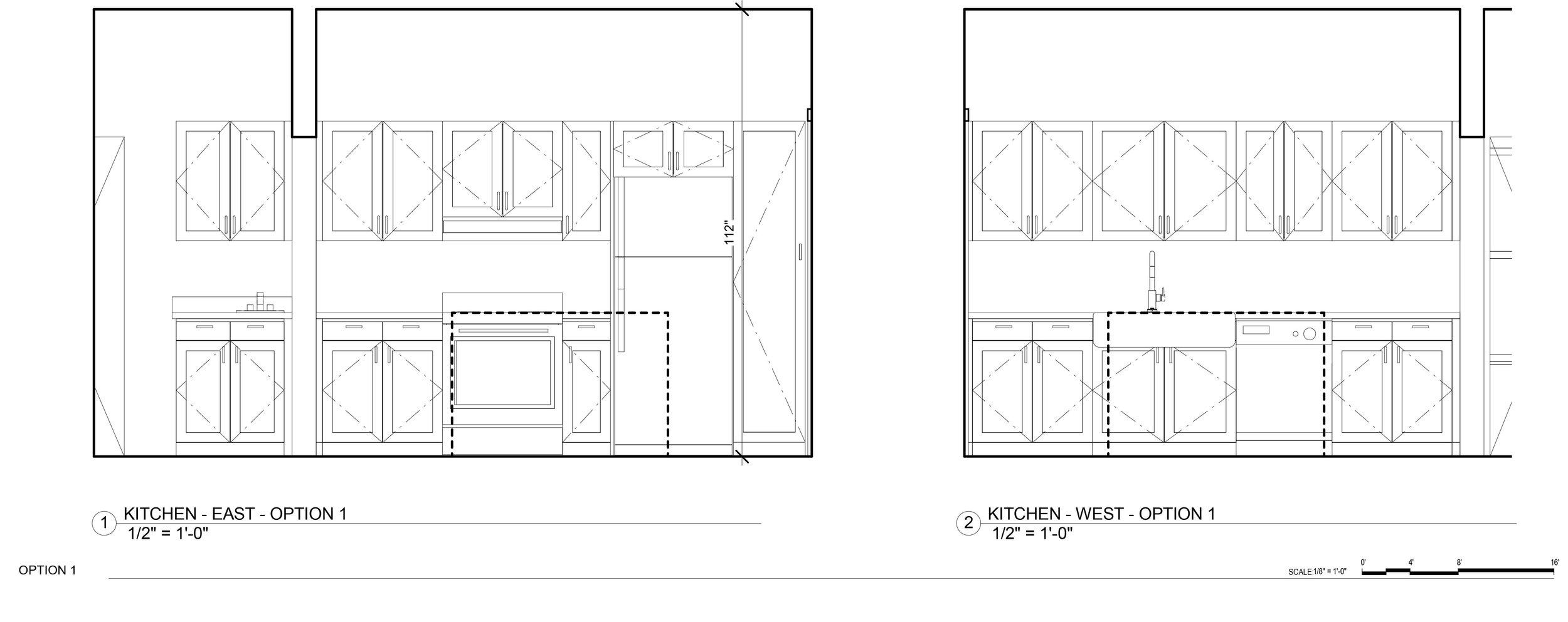 Kitchen remodel idea - Elevations