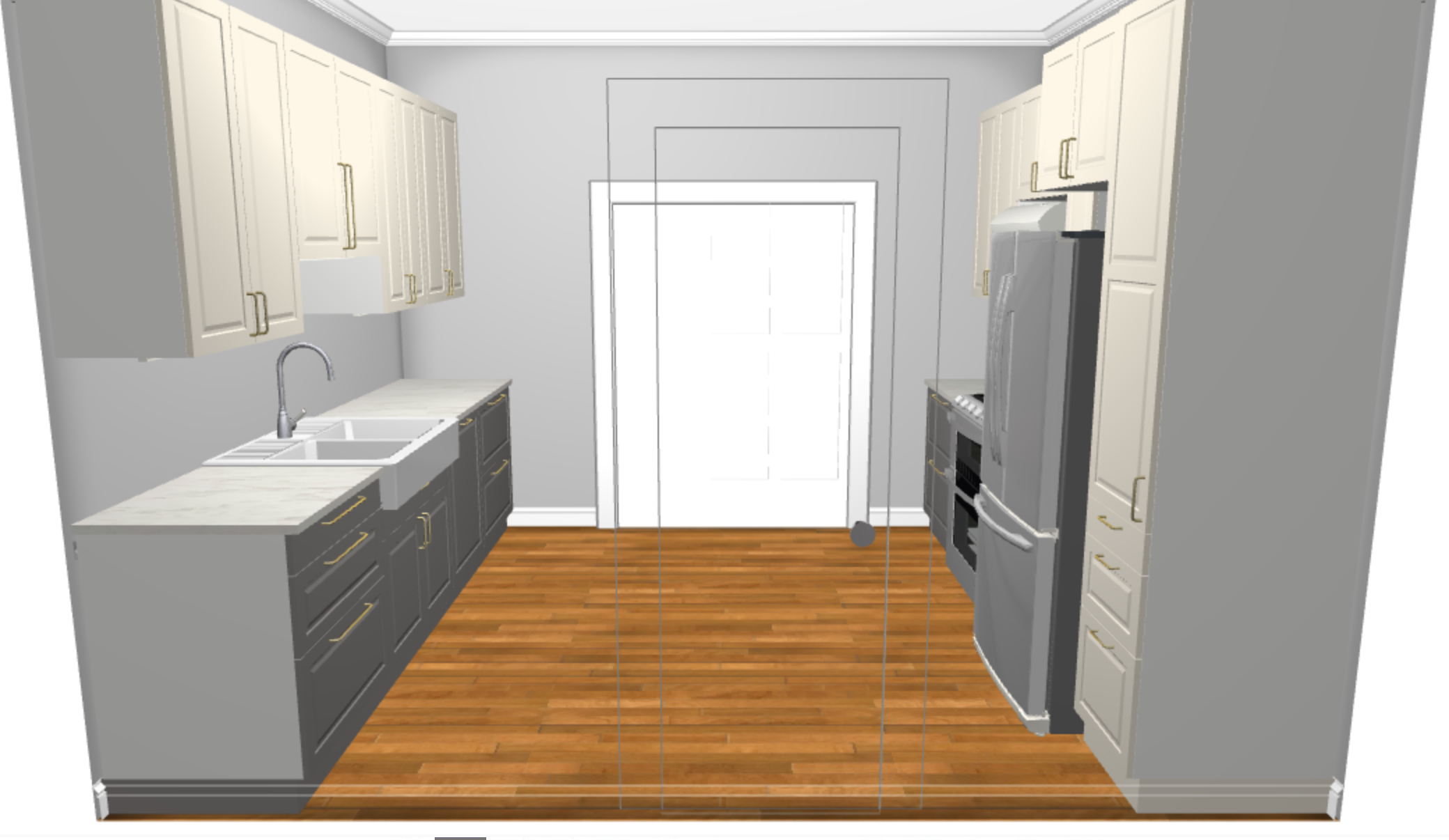 Small Kitchen Remodel: Budget and Design Update — The White ...