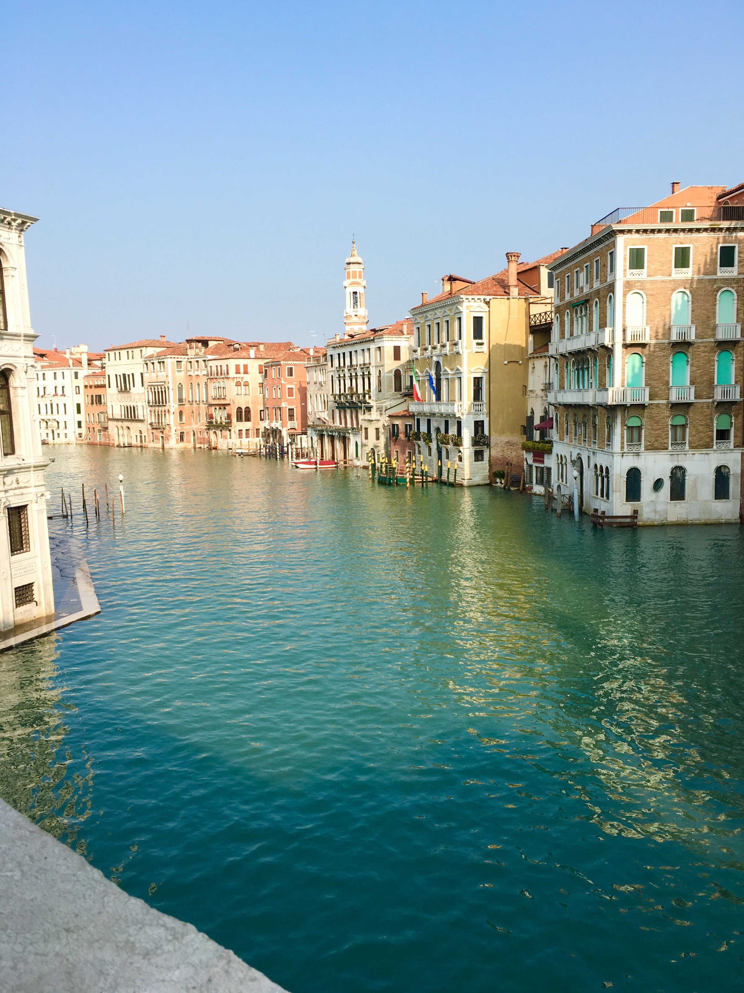 The beautiful Grand Canal.