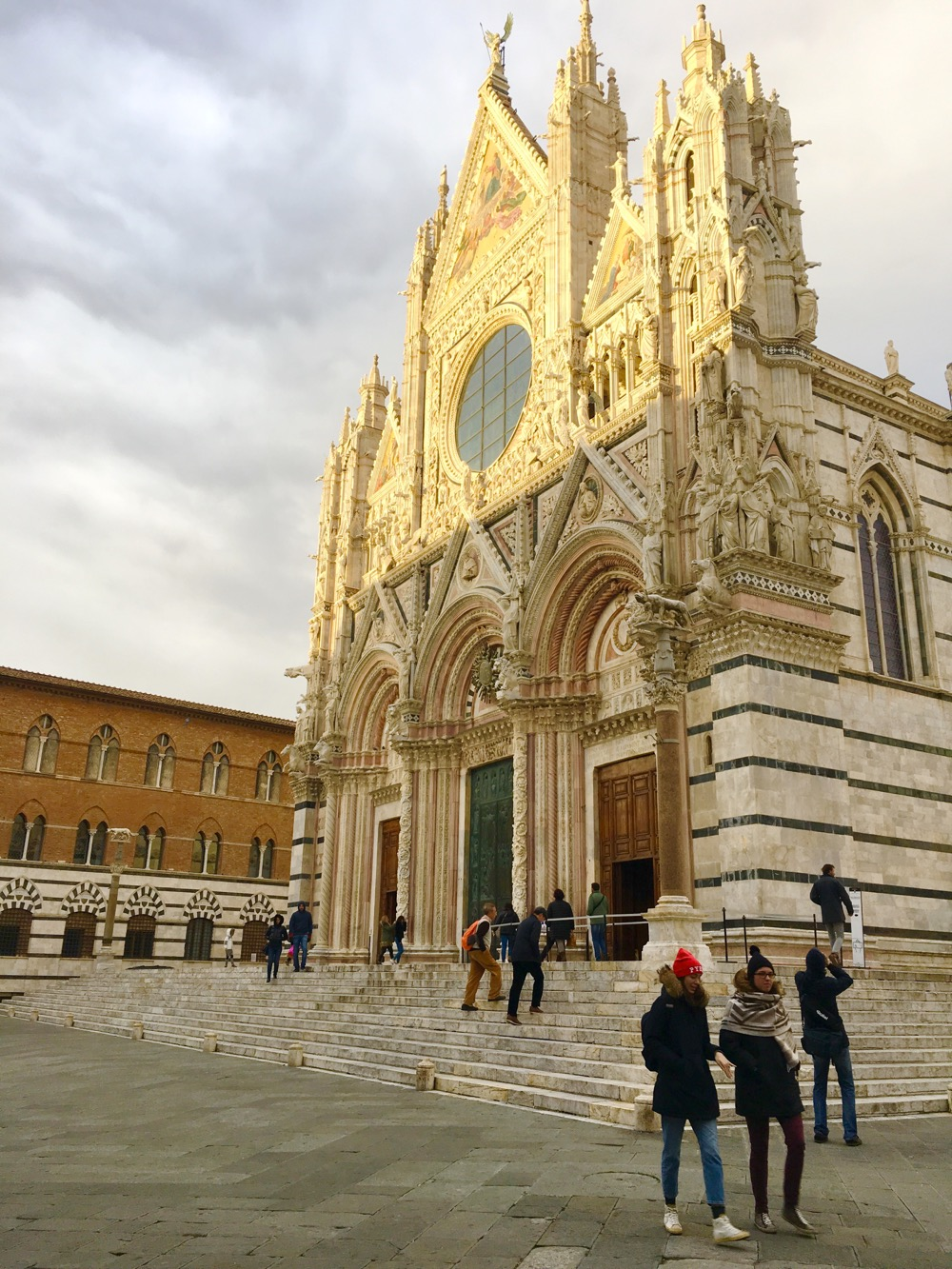 Sienna duomo is spectacular. And this is just the outside.