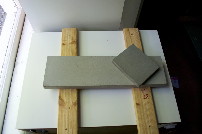 Our concrete color options.