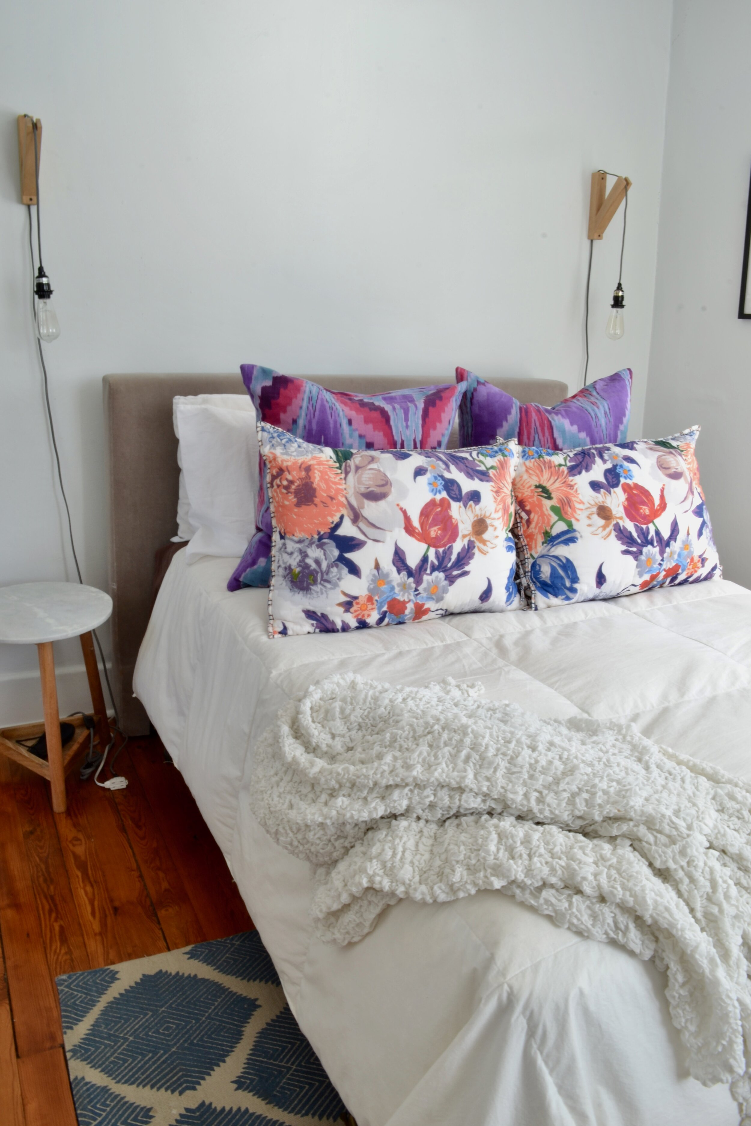 Small Guest Bedroom Idea The White Apartment