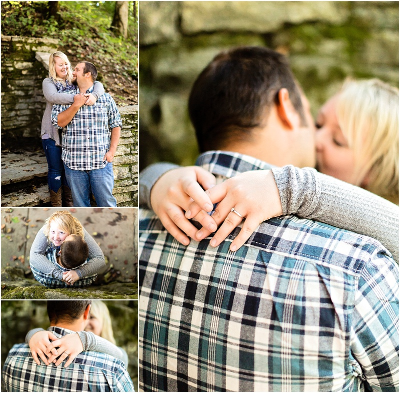 knoxville lake engagement session