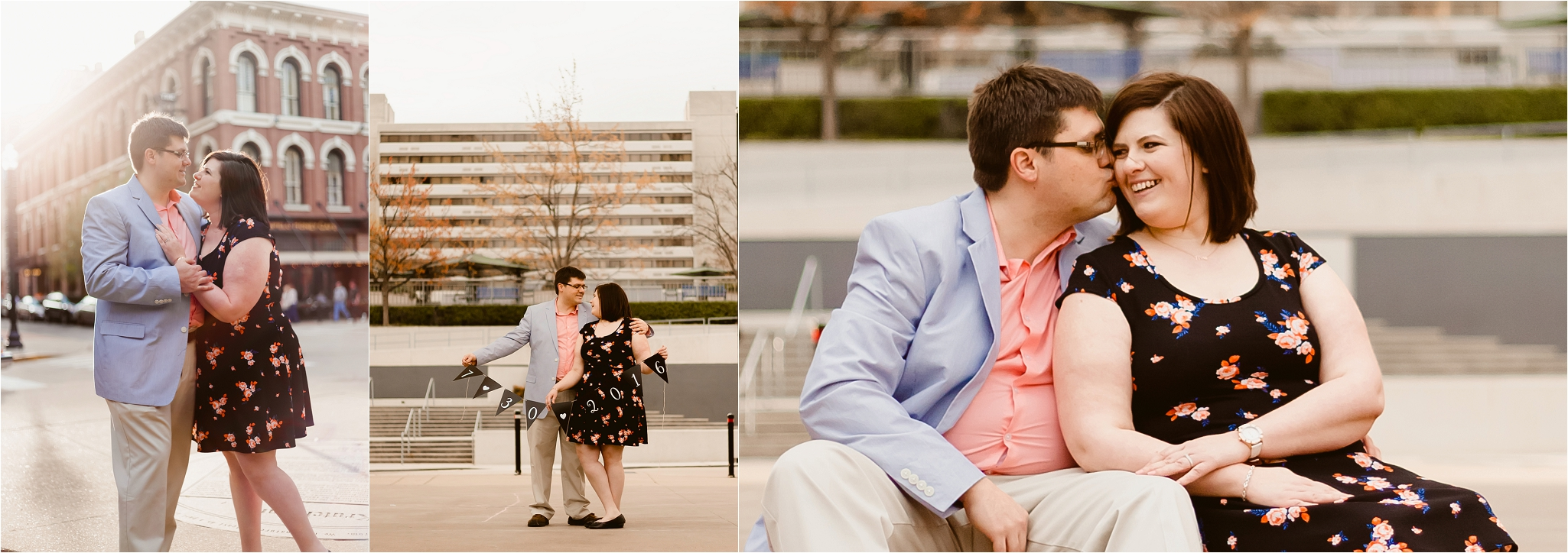 downtown knoxville engagement session knoxville wedding photographer