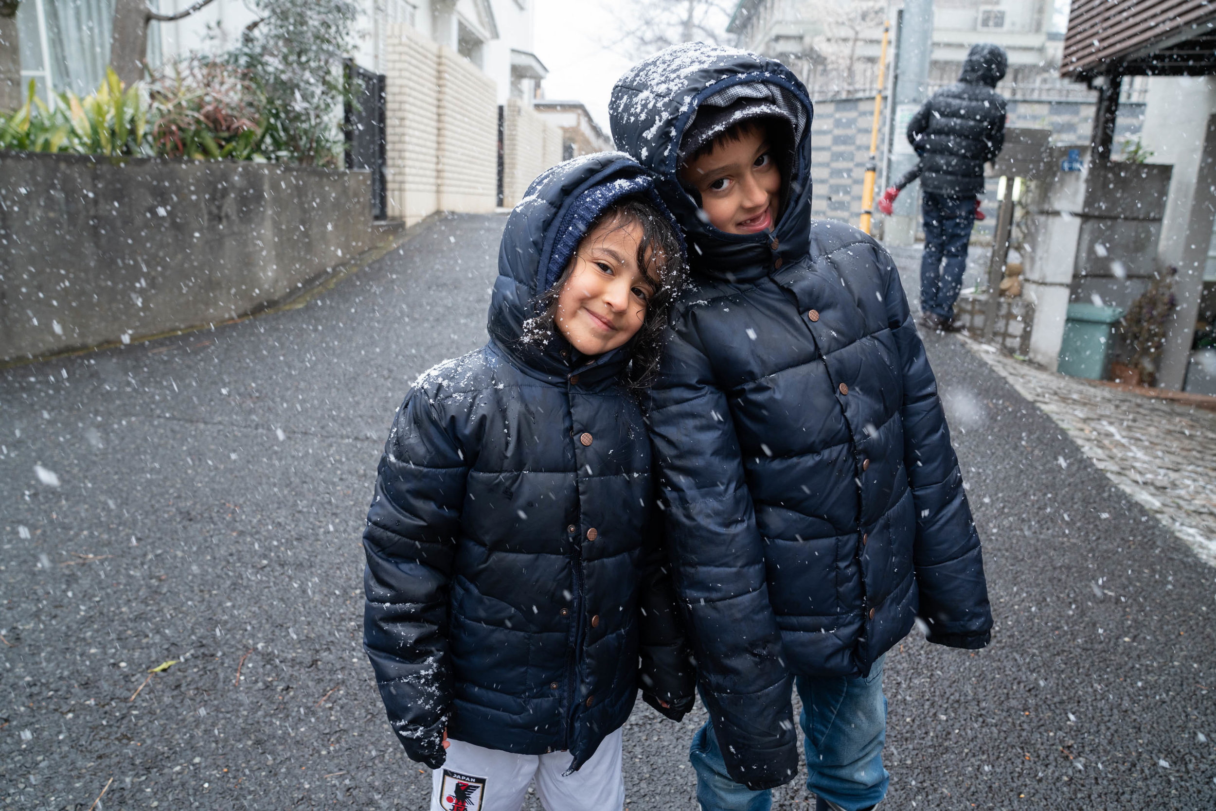 It's Snowing in Tokyo! -