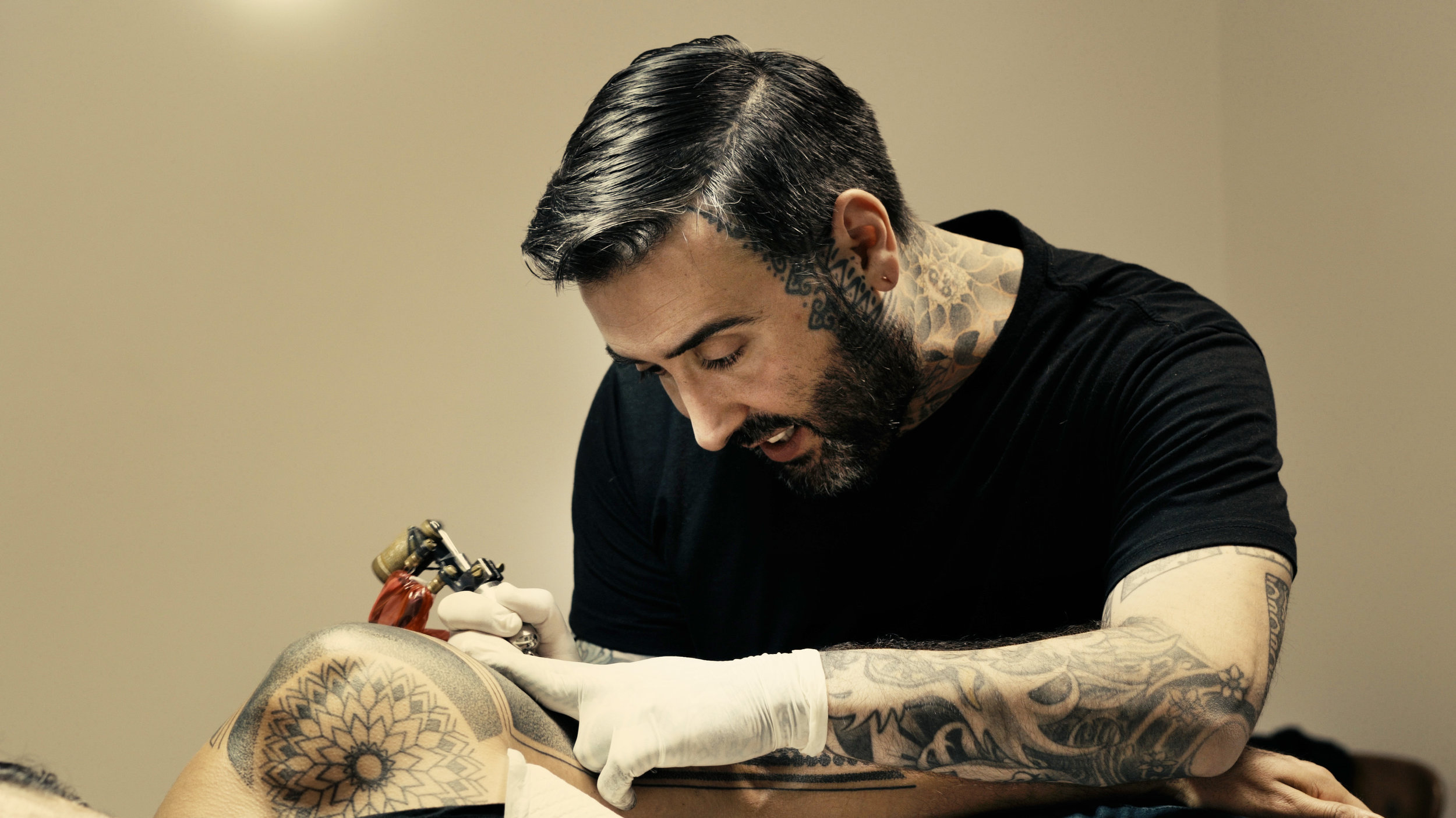 Alvaro Flores - Short DocumentaryMedia: VideoAlvaro is one of the most sought after Tattoo artists in Australia. He was a waiting list almost a year long and creates the most exquisite works of art on peoples bodies. I made this short documentary to explore where his inspiration came from, what drove him to pursue such a thing and to understand what it is like to create a permanent work of art on a persons body.