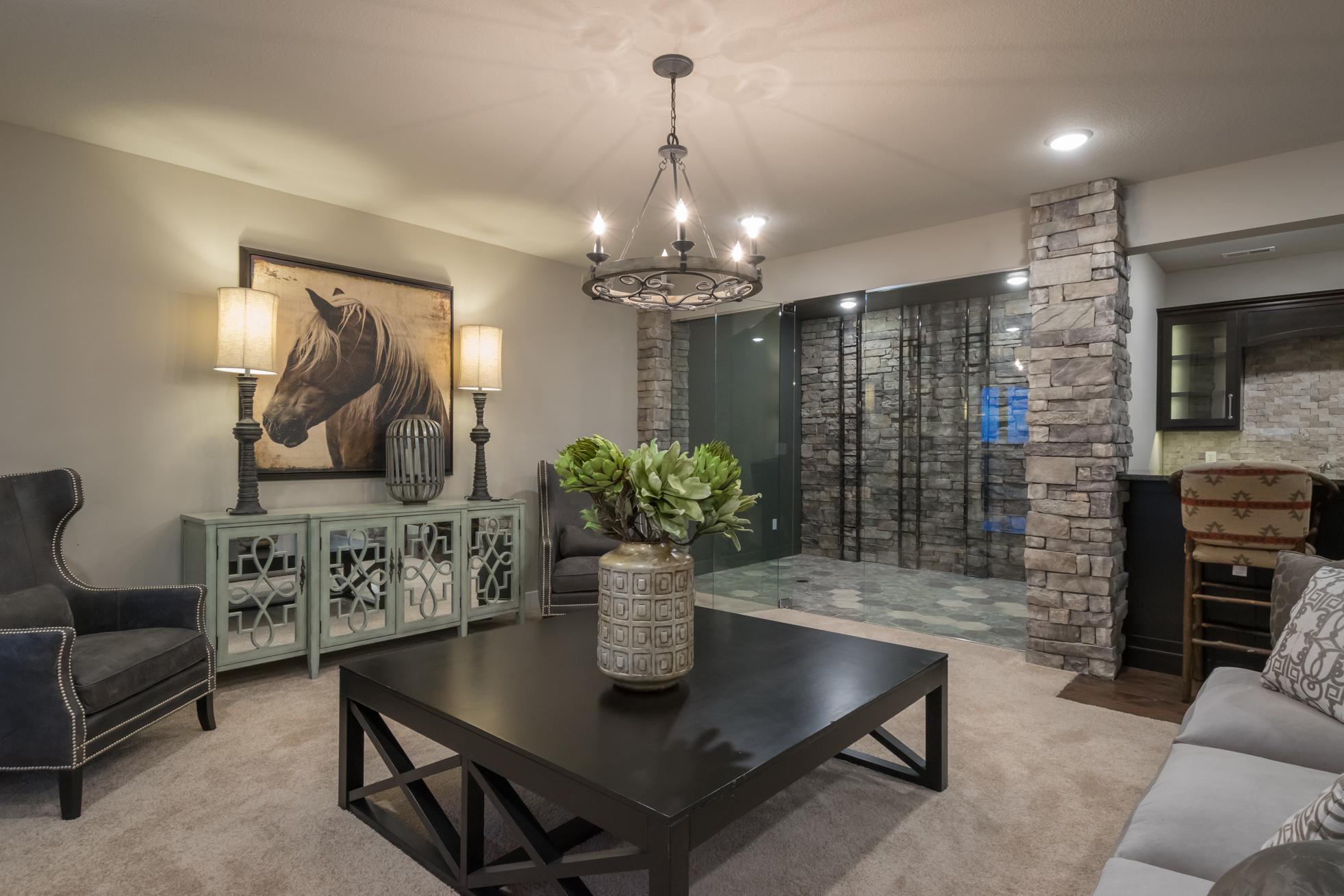 Living Area Custom Home Builder Columbia MO
