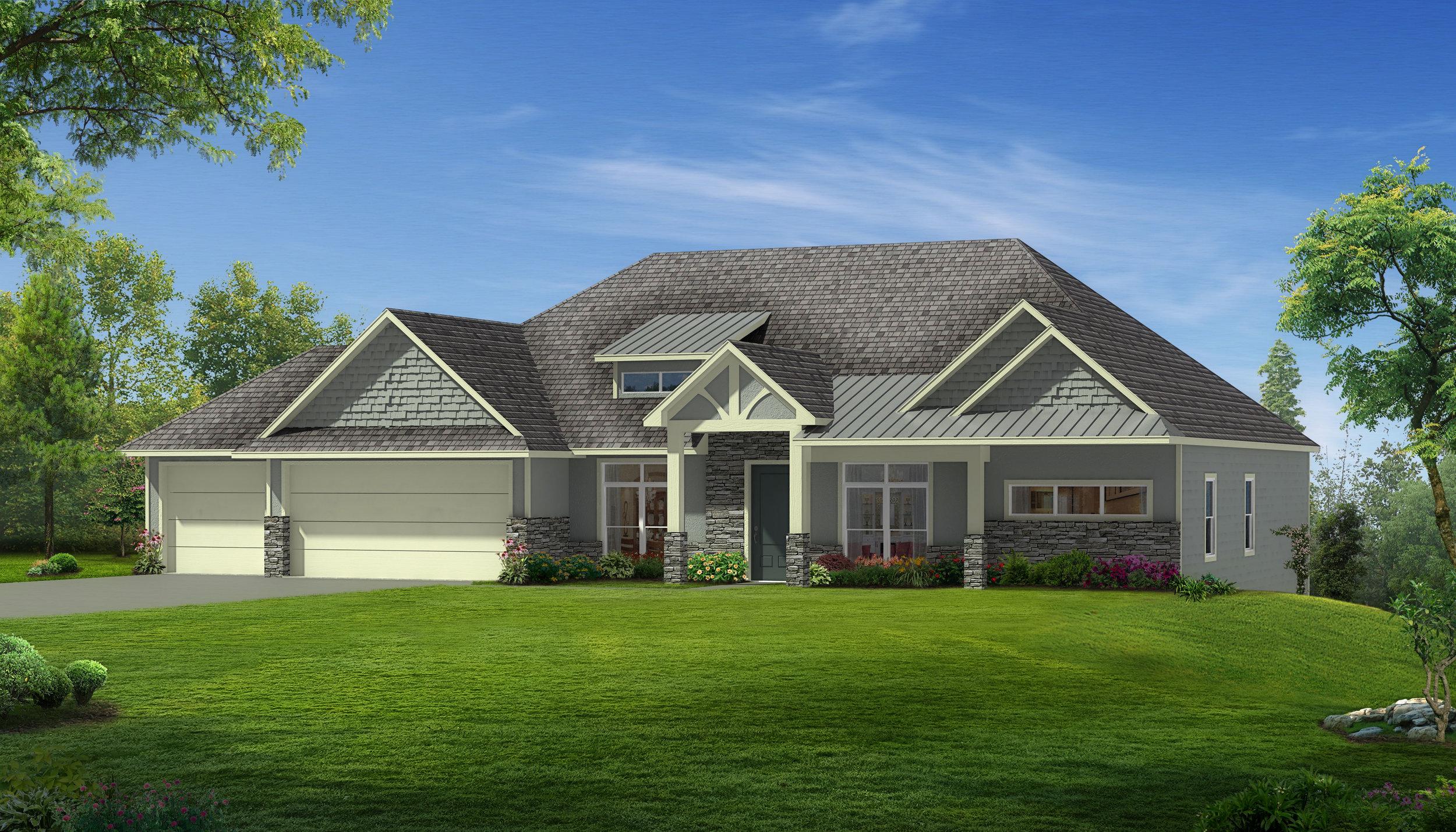Gabrielle Floor Plan Home Builder Boone County Girard Homes