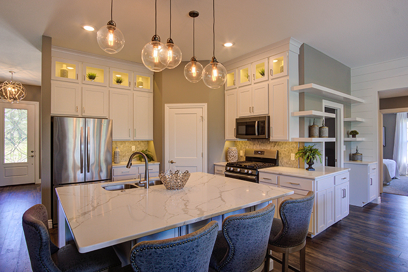 Custom Kitchen in New Home For Sale Columbia MO