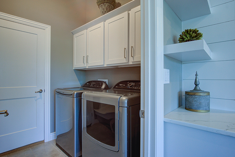 Laundry Room in New Home in Columbia MO