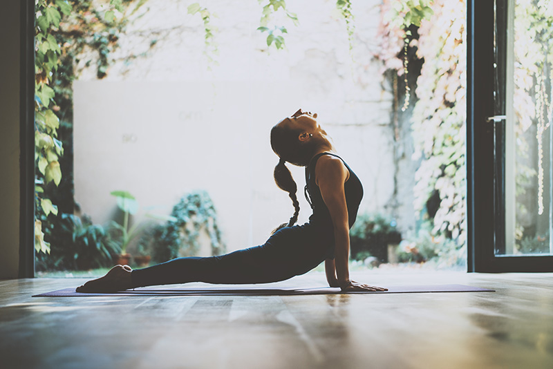 Stick to a movement routine - It can be hard to stay motivated in colder temps but remaining stagnant won't improve your state of mind. Try switching your exercise regime from more intensive workouts to lighter rituals like yoga, pilates or laps in a heated pool.
