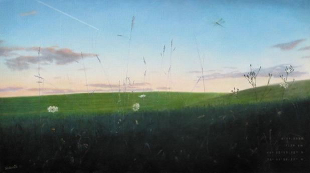 "traugers crossing <span class=""sizes-inline"">27 x 48 oil on linen</span>"