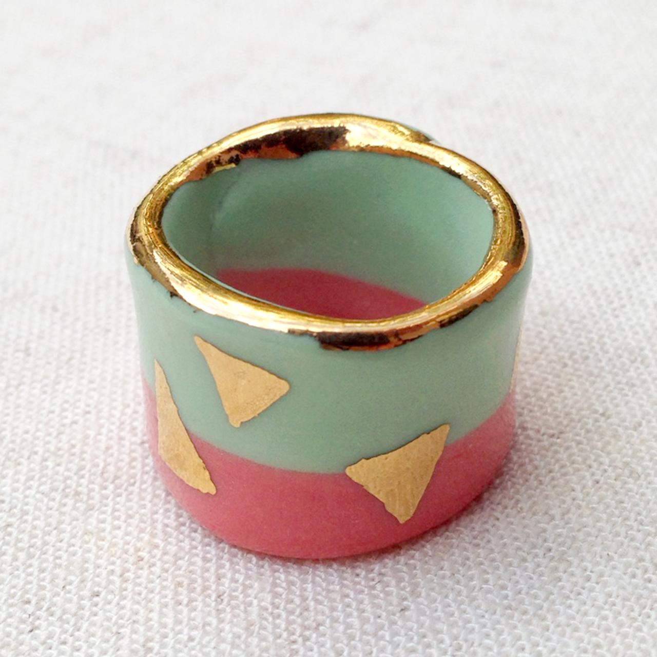 ruby pilven handmade porcelain ring melbourne falling for florin