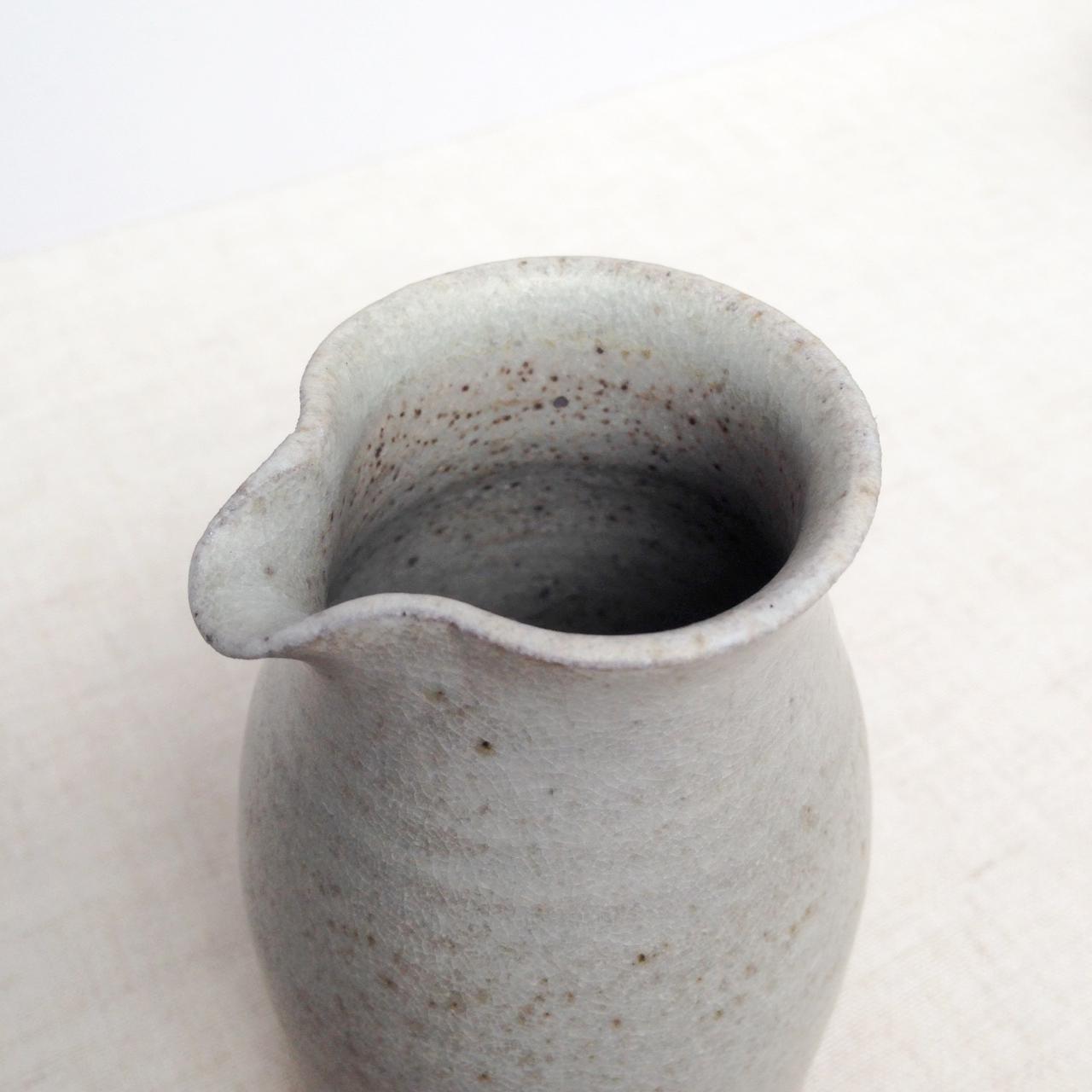 lene jakobsen handmade ceramic jug falling for florin