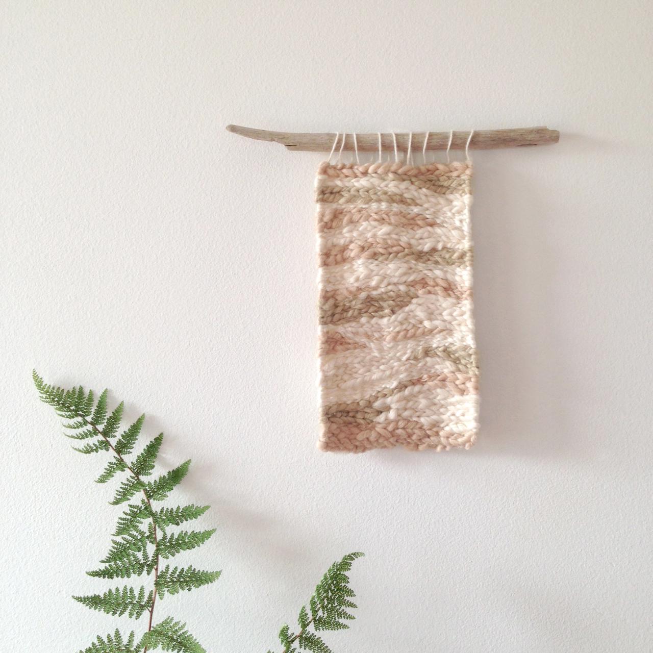 holly marlin organic cotton fibre handmade weaving falling for florin