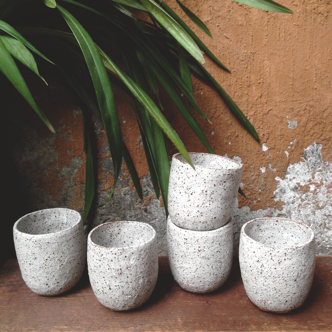 handmade ceramic stoneware tumblers susan simonini falling for florin
