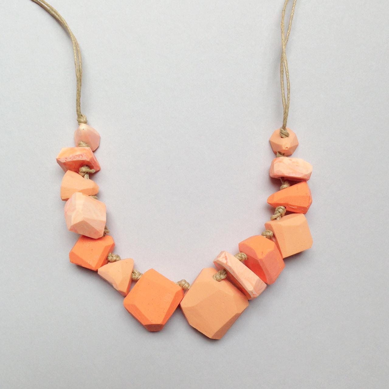 erica sandgren handmade resin necklace falling for florin