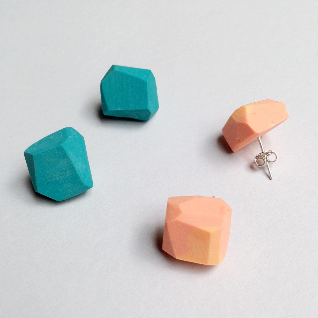 erica sandgren handmade resin earrings falling for florin