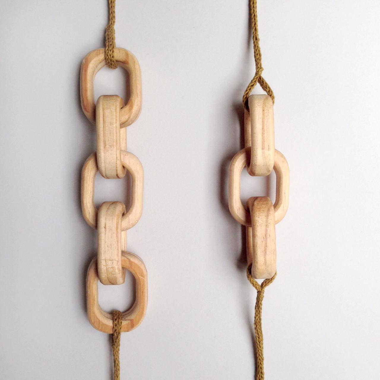 erica sandgren handmade timber necklace falling for florin
