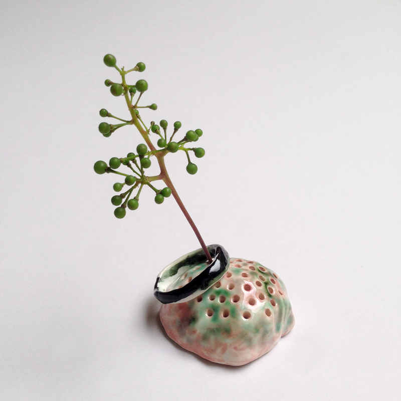 porcelain flower mound by jess mccausland falling for flroin