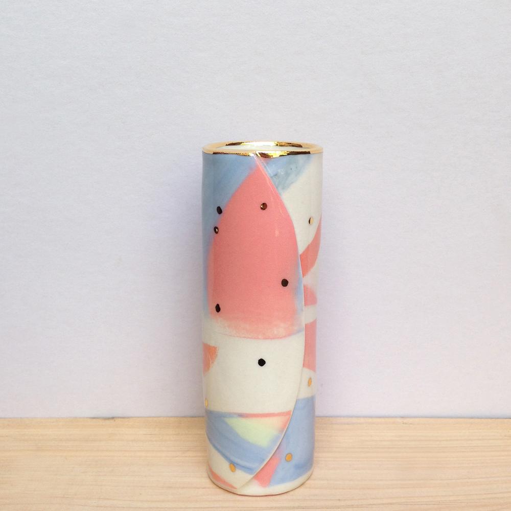 ruby pilven porcelain lustre vase falling for florin