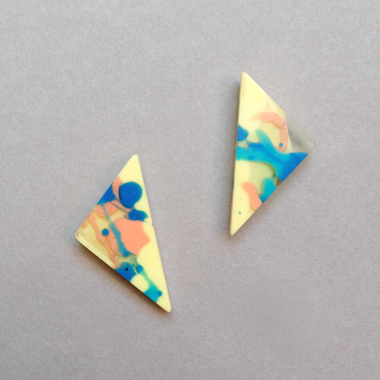 flock curiosity triangle resin earrings falling for florin 8.jpg