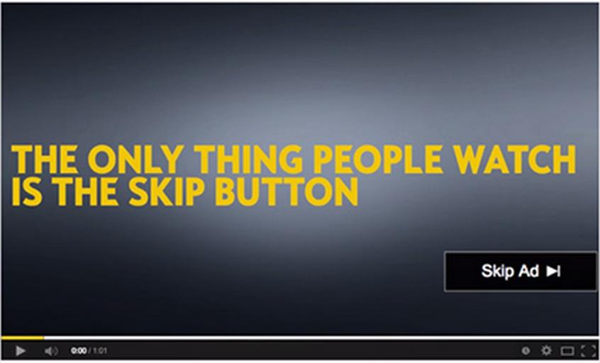 """""""YouTubeユーザーは「広告をスキップ」しか見ていない"""" 自動車メーカーOpelが出した広告で、この事実が明らかになった。"""