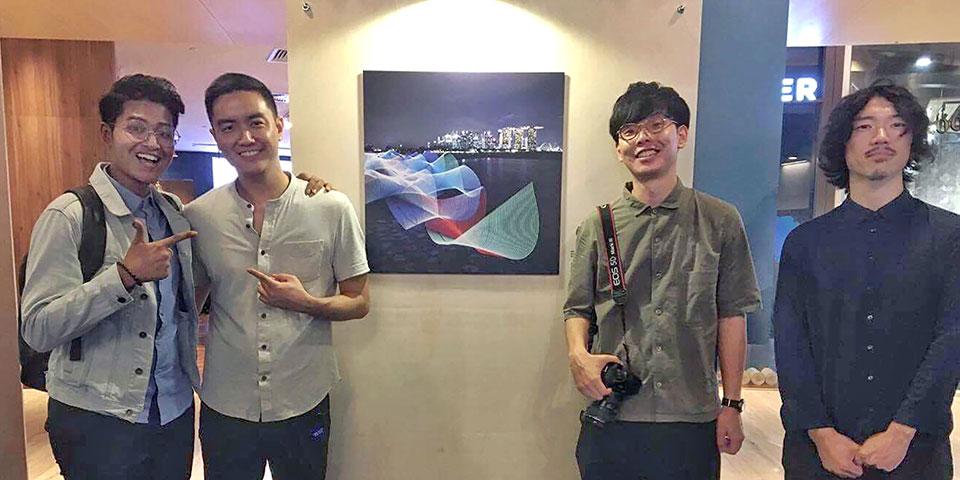 シンガポールのInstagramで活動するインフルエンサー、 Yafiq Yusman と共に。シンガポールのクライアントの案件で、共に働き良い関係を築くことができた。