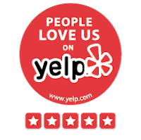 """People Love Us on Yelp"" Award recipient every year since 2015!"