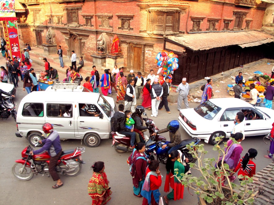 Kathmandu is a colourful, active city. We were here for a couple of days on both ends of our 2 week nepal trip and loved every moment.