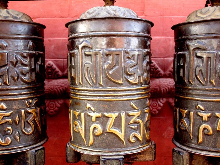 Kat_Spinning prayer cylinders.JPG