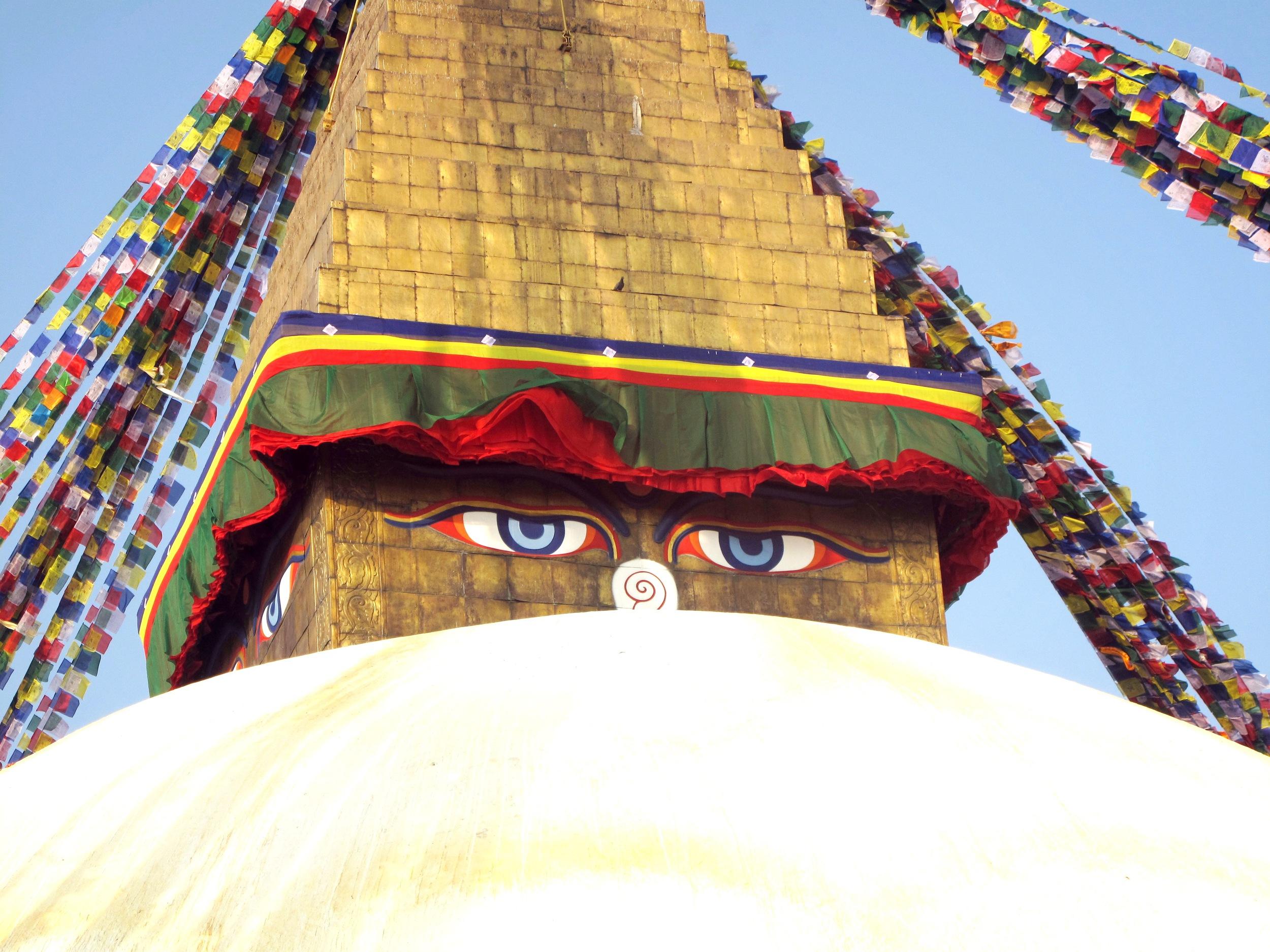 Kat_Bouddhanath stuppa_up close_eyes.jpg