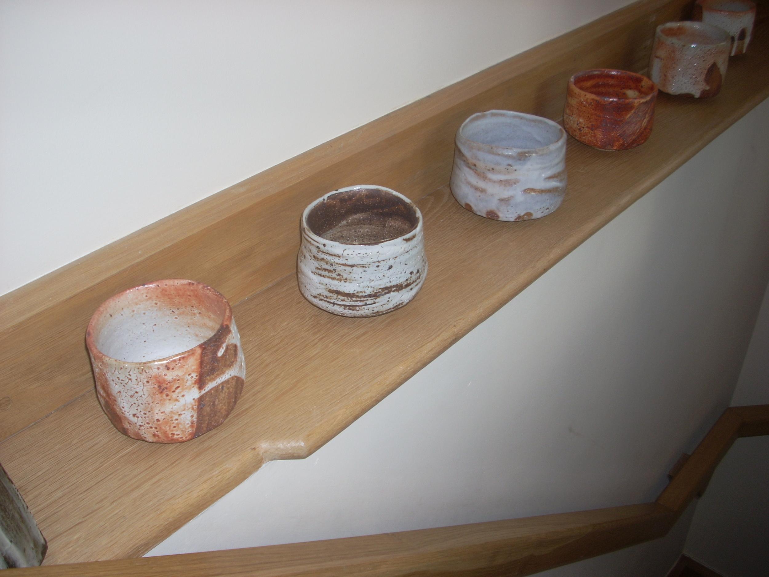 Tea bowls by Lisa Hammond at  Kigbeare