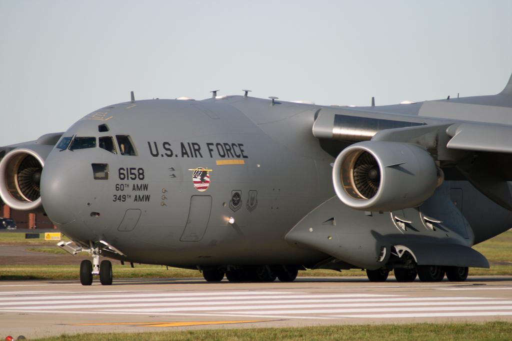 Close up C-17 Globemaster